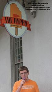 Sean enjoying hyppo pop