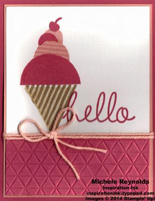 What's your type ice cream cone hello watermark