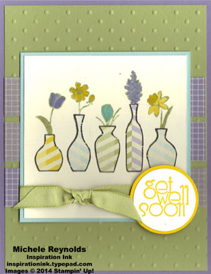 Vivid vases striped vases watermark