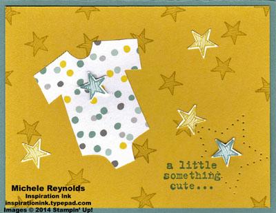 Something to say star onesie watermark