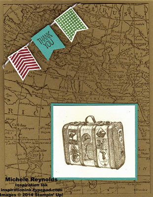 Traveler suitcase thanks watermark