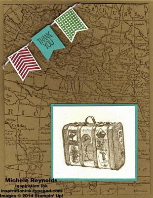 Traveler suitcase thanks watermark