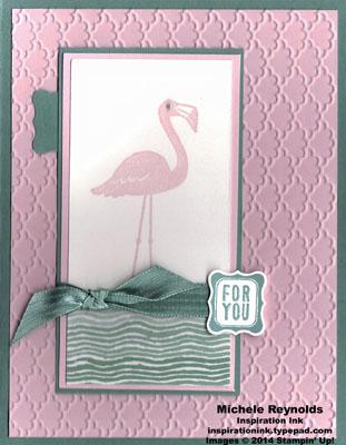 Flamingo lingo wading bird for you watermark