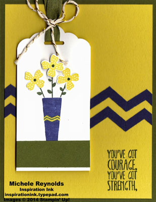 Pictogram punches courage flower vase watermark