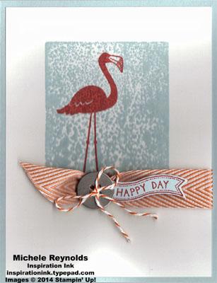 Flamingo lingo blocked flamingo watermark
