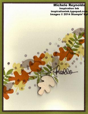 Fall fest leaves swoosh watermark