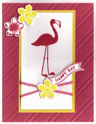 Flamingo lingo deb wallace watermark