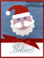 Snowflake soiree believe in santa sneek
