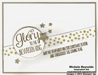 The newborn king golden star glory peek