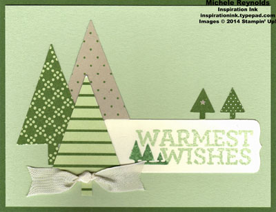 Christmas bliss warm tree wishes watermark