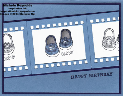 Baby we've grown boy shoes filmstrip watermark