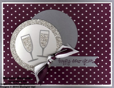Happy hour sparkly champagne new year watermark