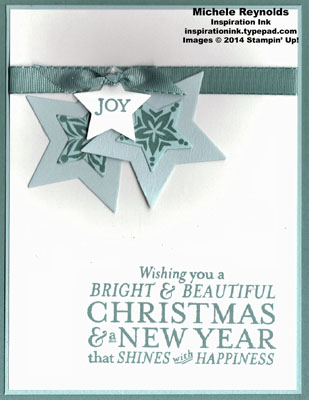 Bright & beautiful hanging stars watermark