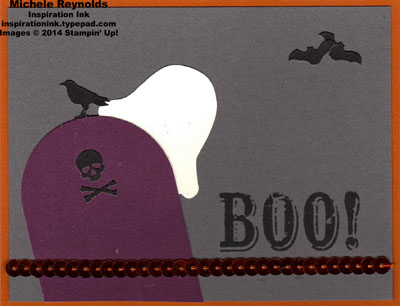 Boo-tiful bags kit headstone ghost watermark