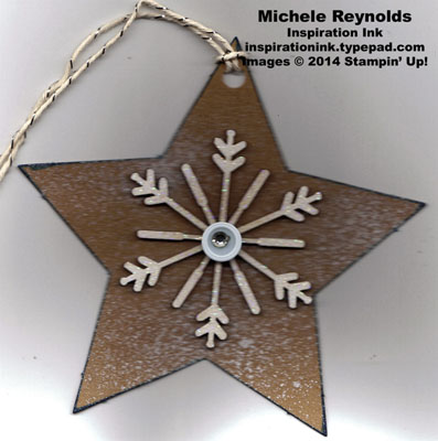 Many merry stars kit sparkly star tag watermark