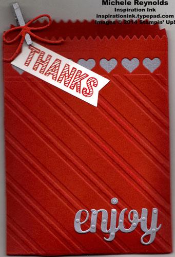 Simply wonderful thanks mini treat bag watermark