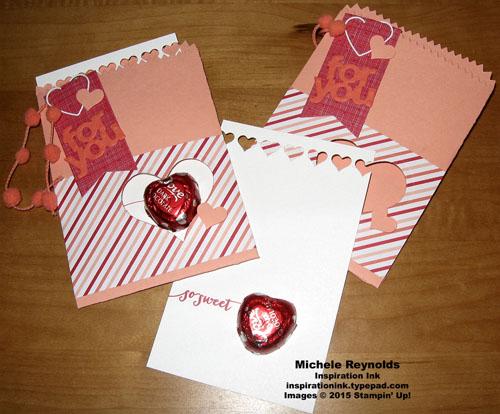 Hello life mini treat bag pocket card watermark