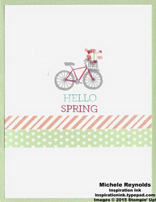 Sheltering tree hello spring bike watermark