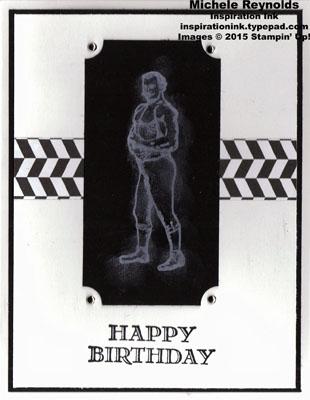 Guy greetings chalkboard strongman watermark