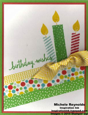 Build a birthday cherry on top candles watermark