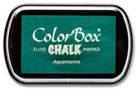 Aquamarine colorbox pad