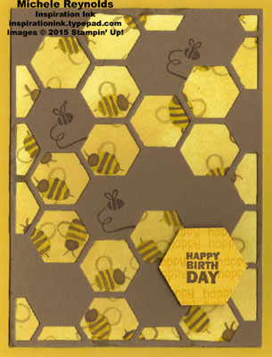 Honeycomb hello happy beeday watermark