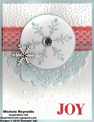 Holly jolly greetings snowflake joy watermark