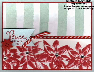 Reason for the season poinsettia stripes watermark