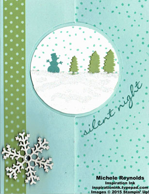 Jingle all the way silent night flip card watermark
