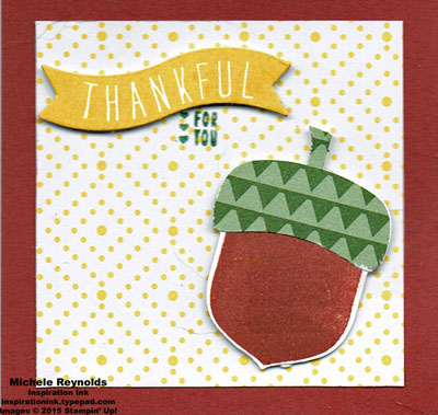 Acorny thank you cliffie wilson notecard watermark