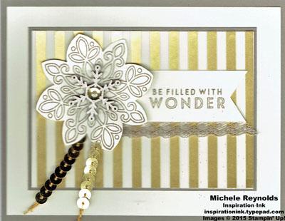 Flurry of wishes gold wonder watermark