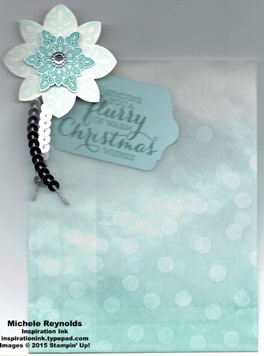 Flurry of wishes gift bag watermark