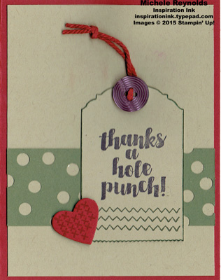 Love you sew hole punch thanks tag watermark