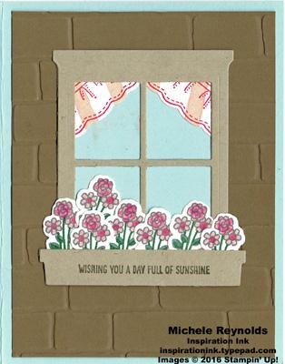 Bear hugs window box flowers watermark