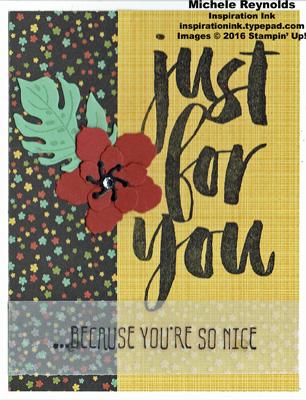 Botanical blooms card 4 watermark