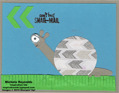 Playful pals snail mail snail watermark