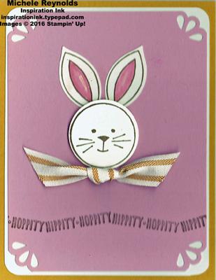 Friends & flowers easter bunny watermark
