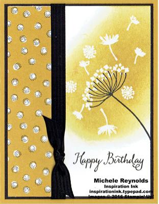 Summer silhouettes dandelion wishes watermark