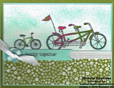 Sheltering tree family bike ride watermark