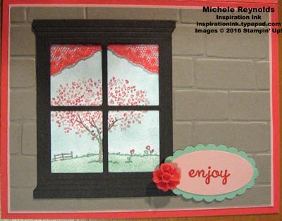Happy home enjoy cherry tree