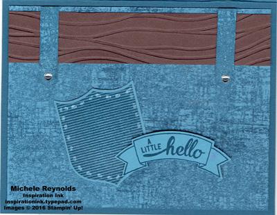 Badges & banners jean pocket hello watermark