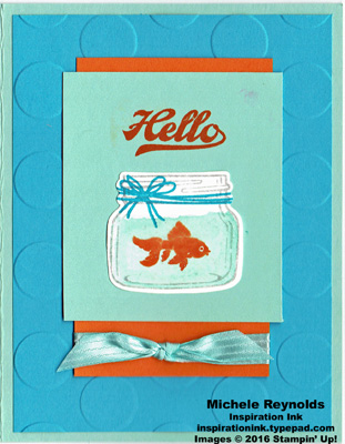 Jar of love goldfish jar hello watermark