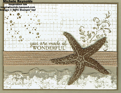 Picture perfect wonderful sea star watermark