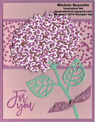 Thoughtful branches glimmer hydrangea watermark