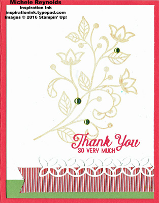 Flourishing phrases simple thank you watermark