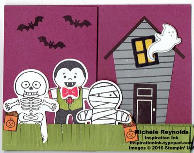 Cookie cutter halloween trick or treat line watermark
