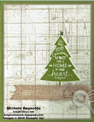 Peaceful pines spirit tree watermark
