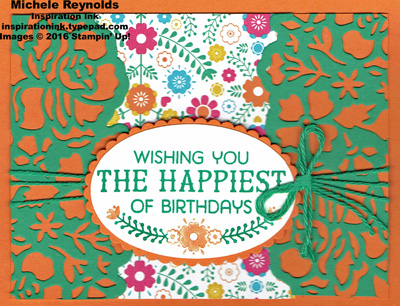 Birthday fiesta floral happiest birthday watermark
