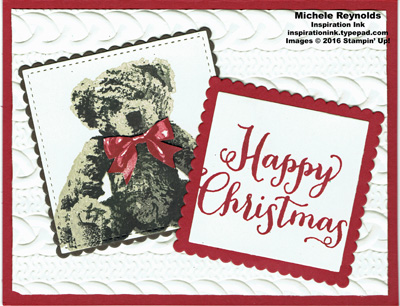 Baby bear christmas bear watermark