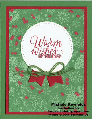 Tin of tags mistletoe kisses watermark